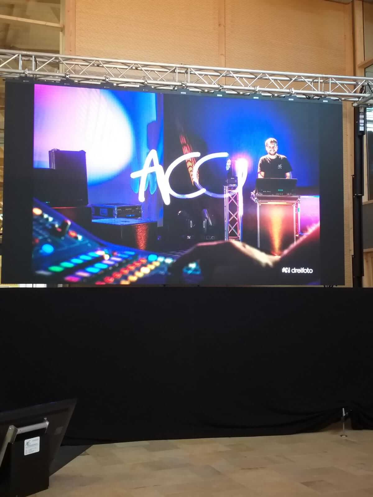 ETWT Messe Hawangen Led Screen